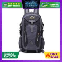 Tas Gunung Travel Backpack Waterproof 40L Ransel USB Charger ST31