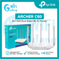 TP-Link Archer C60 AC1350 Dual-Band Wi-Fi Router