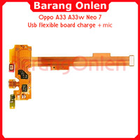 Oppo A33 A33w neo 7 usb board charge flexible konektor cas mic plugin
