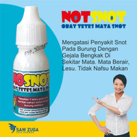 NO SNOT Obat Burung Anti Snot Obat Snot Burung Lovebird Obat Merpati