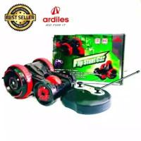 Mainan Anak Remote Control Ardiles RC FLIP Car MOBIL MERAH TANPABATERE