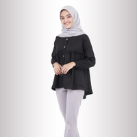 Baju Atasan Fidelle Top Blouse Baju Muslim Blus Muslim