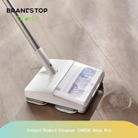 Alat Pel Lantai Otomatis Elektrik Smart Robot Cleaner SWDK Mop Pro