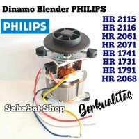 DINAMO MESIN BLENDER PHILIPS HR 2115 2116 2061 2071 1741 1791 1731 dll