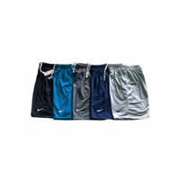 PAKET HEMAT celana pendek pria (3pcs) celana pendek bahan baby terry - Mix(Campur)