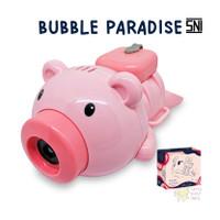 Mainan Anak Bubble Paradise Balon Gelembung Sabun - Merah Muda