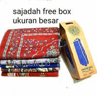 sajadah travel free box