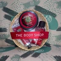 The Body Shop strawberry gift paket seserahan kado murah best seller