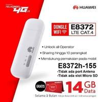 MODEM WIFI HUAWEI WINGLE E8372 SPEED 4G LTE FREE TELKOMSEL 14GB