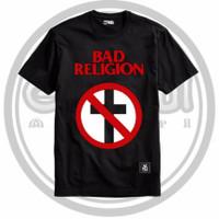 T-Shirt- Kaos Band-Distro Yinyang- Bad Religion- Gandul Apparel