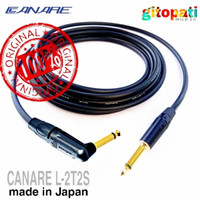kabel canare original Japan vs straight to angle plug panjang 3 meter