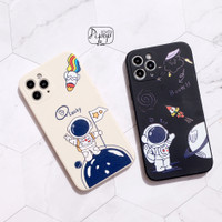 ASTRONAUT LUCKY CASE iPhone 6 7 8 Plus X XS MAX XR 11 12 PRO MAX