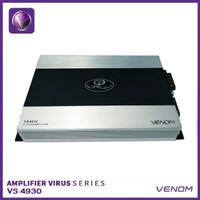 Power Amplifier 4 Channel Venom Virus VS 4930 4CH Audio Mobil Original