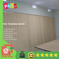 PVC Folding Door - Pembatas Ruangan bahan plastik anti Air - M*URAH