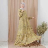 homedress gamis busui rayon dress muslim gamis wanita