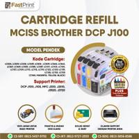 Cartridge MCISS Compatible Brother J100 J105 J200 J3720 Pendek + Tinta