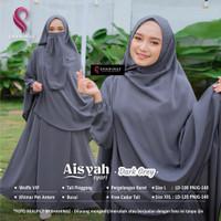 Baju Gamis Dewasa Set Hijab Syari Muslim AISYAH ORIGINAL By SHAHINAZ