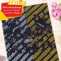 KAIN BATIK TULIS Batik Bakaran bahan sarimbit seragam Ladrang Burung