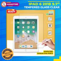 iPad 9.7 Gen 6 2018 A1893 A1954 Tempered Glass Anti Gores Clear Kaca
