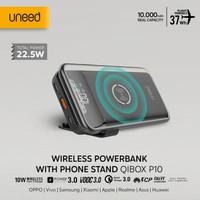 UNEED 10000mAh Powerbank Wireless 10W Fast Charging QC VOOC - UPB515