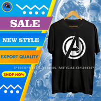 Kaos Superhero Original Pria Murah Cowok Keren Trend Premium AVENGERS