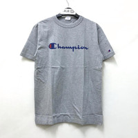 Champion Graphic T-shirt - Grey 100% Original