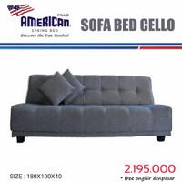Sofa bed merk american foam type Cello