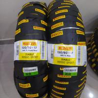 Ban pirelli diablo rosso sport 150/60-17 & 120/70-17 cbr R25 ninja