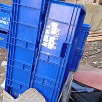 bak plastik1meter/bak plastik biru industry plastik Kontainer 1M/box