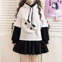 Jaket Jepang/Anime Karakter Kawaii Lucu - Panda Jacket with Sling Bag
