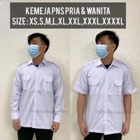Baju putih dki/baju jokowi/baju dinas/seragam putih/baju daerah putih