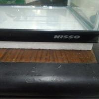 Aquarium Nisso 60 x 29 x 35 cm List Plastik atas dan Bawah/akuarium