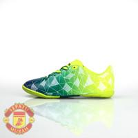 Sepatu Futsal Ardiles Crackle - Hijau Citron/Hijau/Biru Navy