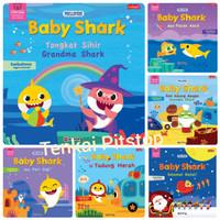 Buku Cerita Anak Pinkfong Baby Shark Orkes Keluarga Shark+Peri gigi+Gr