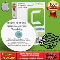 Camtasia aplikasi Screen Recording (Macbook)