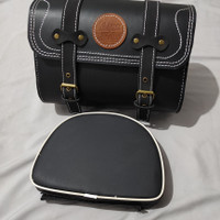 tas dan back rack Vespa / scoopy