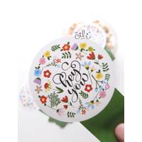 (SN029) stiker Hey You lucu (uk 8x15cm)