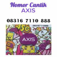 Nomor Cantik Kartu Perdana Axis 4G Lte 08316 7110 888