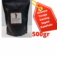 Kopi Toraja Arabika Toraja Specialty 1AA Arabica Coffee - BUBUK KASAR, 500gr Variety