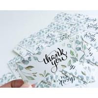(SN026) Stiker MINI Thank You