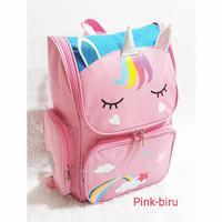 tas sekolah anak perempuan sd unicorn my little PONY backpack wanita