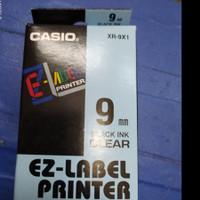 EZ-LABEL PRINTER XR-9X1 9mm Black ink Clear