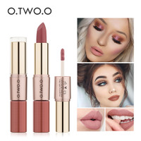 O.TWO.O 2 In 1 Lipstick Matte Waterproof Long lasting Lip Cream