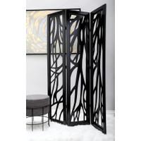 Room Divider Pembatas Ruangan Lipat Folding Partition_Fleur De Lis