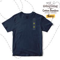 Kaos Polos Anak Cotton Bamboo Navy