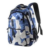 Tas Ransel Pria Backpack Tas Cowok Korea Style Import - 8807 - Biru Muda