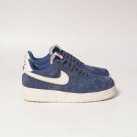 Nike Air Force 1 Moonson Blue/White Bnib - SUEDE/BLUE/WHIT, 39