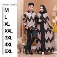 Batik Couple Sarimbit/Batik Couple keluarga/Baju Batik Couple - Hitam