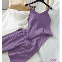 F&F Dress Rajut Isyana PREMIUM QUALITY L-XL LD 100-120 CM / PJ 120 CM