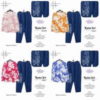 Kana Set Setelan Celana Wanita Baju Hangout Jumbo Big Size Modis